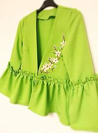 Sacou light green