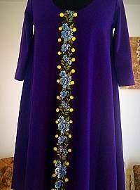 Ultraviolet dress