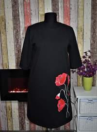 Little black painted dresses