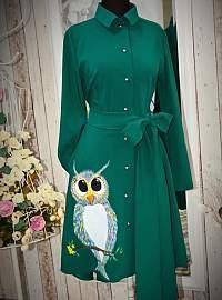Owlsome chic dress