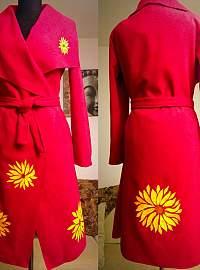 Sun flower coat