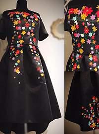 Mini flowers dress