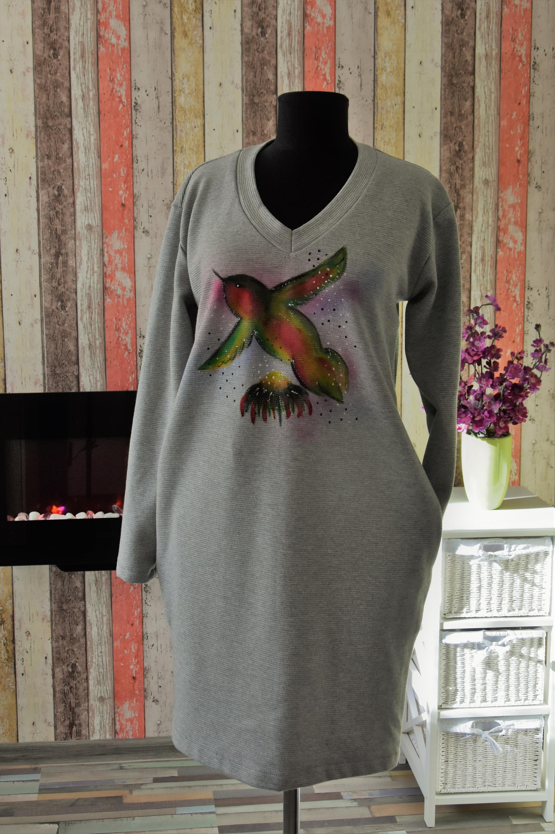 Sporty bird dress